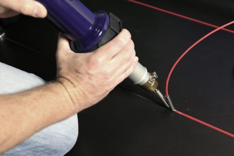 Weldy Energy HT 1600 spawanie wykładzin podłogowych