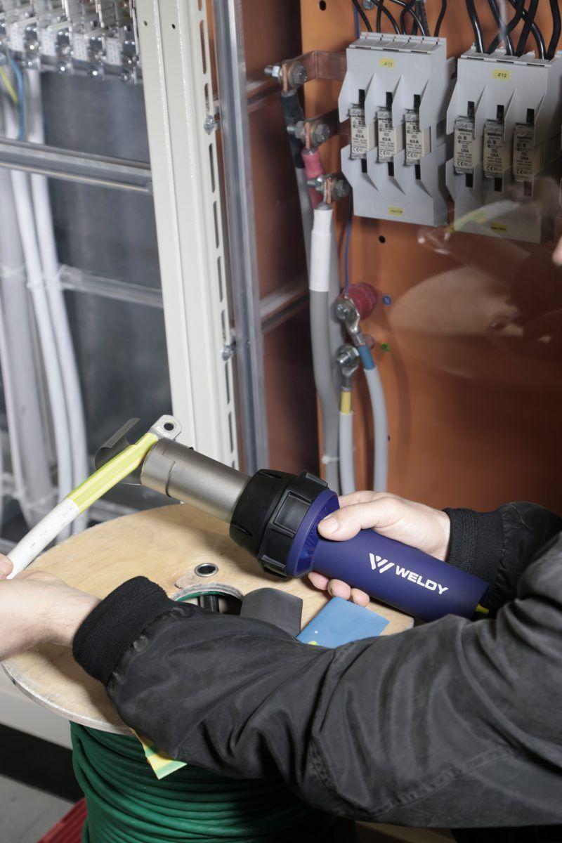 Weldy Energy HT3400 obkurczanie otulin