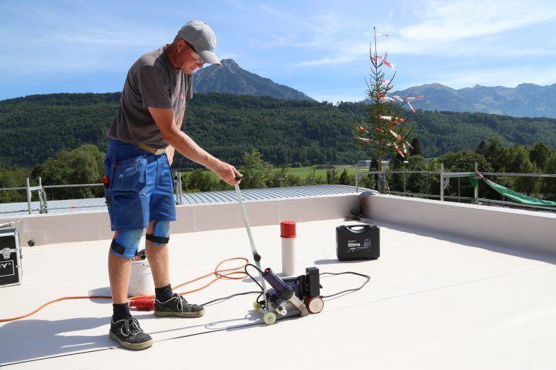 Weldy Roofer RW3400 zgrzewanie membrany dachowej